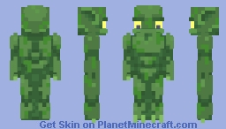 It Came From The Deep Minecraft Skin