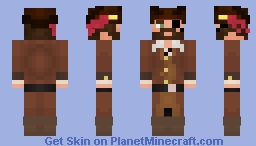 Pirate | Entry for Seven Seas Contest Minecraft Skin
