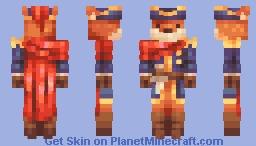 i heard the captain is a fox - ce Minecraft Skin