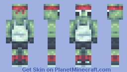 this isnt a turtle Minecraft Skin