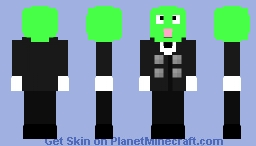 Hunter x Hunter beans Minecraft Skin