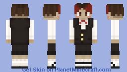 MitchellThyArtist - Suit Minecraft Skin