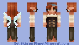 Zarina: from Tinker Bell and the Pirate Fairy - Seven Seas Contest Minecraft Skin