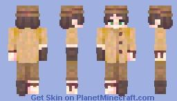 'venturing / collab Minecraft Skin