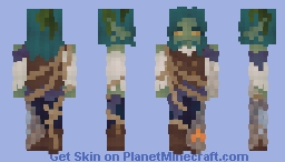 Seven Seas Contest Entry | Caught in the Rigging Minecraft Skin