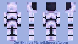 white space suit Minecraft Skin