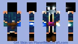 Frigid Admiral | Seven Seas Contest Entry Minecraft Skin