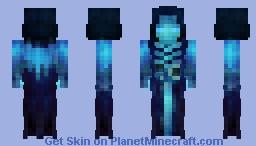 𝕿𝖍𝖊 𝕯𝖗𝖔𝖜𝖓𝖊𝖉 𝕲𝖍𝖔𝖘𝖙 Minecraft Skin