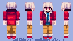Lexi - Va-11 Hall-a / ROM Minecraft Skin
