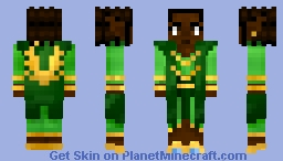Forest Kingdom Elf Minecraft Skin