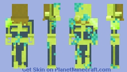 Aquatic Boi Minecraft Skin