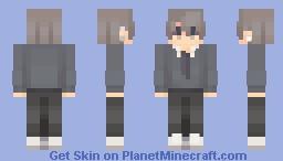 silver lining Minecraft Skin