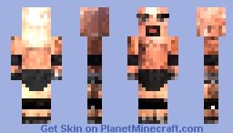 Bill Goldberg (WCW attire) Minecraft Skin