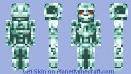 The Terminator (T-800 Endoskeleton) Minecraft Skin