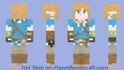Link (BotW) Minecraft Skin