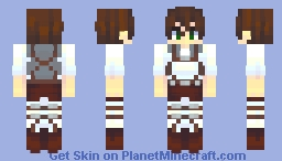 stfu eren. NO MORE TATAKAE 🙄 Minecraft Skin