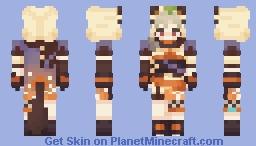 sayu - genshin impact Minecraft Skin