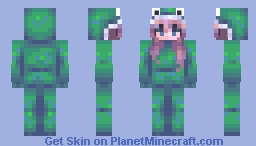 this is a frog Minecraft Skin