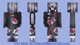 Hidan | Naruto: Shippuden Minecraft Skin