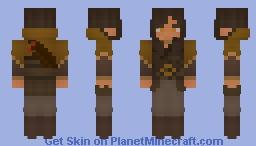 an archer's pride Minecraft Skin