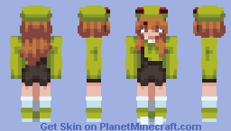 Froggie Minecraft Skin