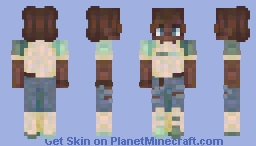 quiet voices Minecraft Skin