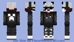 Uff || Furry Gaming B) || Minecraft Minecraft Skin