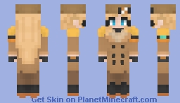 Millia Rage -Guilty Gear Strive- Skin Request Minecraft Skin