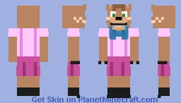 Donna (FNAF OC) Minecraft Skin