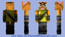 """""""Little Cato (Final Space)"""" (angry) Minecraft Skin"""
