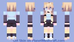 Roller Derby ~ Glowup Minecraft Skin