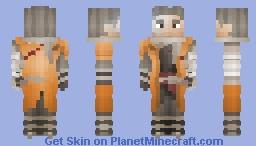 Sekiro - The One Armed Wolf || Sekiro: Shadows Die Twice Minecraft Skin