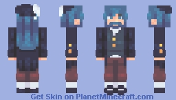 {CE} Blue Beard Minecraft Skin