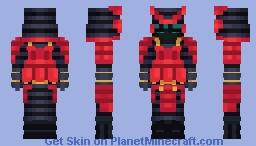 The samurai live forever Minecraft Skin
