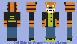 Bently (FNAF OC) Minecraft Skin
