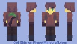Hunting for emeralds (OC) Minecraft Skin
