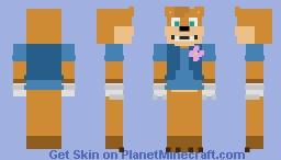Sunny (FNAF OC) Minecraft Skin