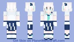 Miuneru Haneuzu (羽渦ミウネル) | Vox Monster Project Minecraft Skin