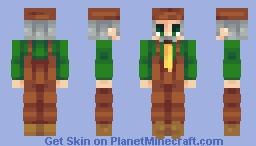 Mayor Lewis ~ Stardew Series Minecraft Skin
