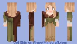 ↠ Bombshell Blonde Minecraft Skin