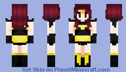 Queen Bee Minecraft Skin