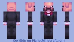 Mr Pig Minecraft Skin