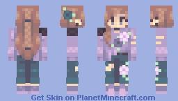 {RCE} Violet View (Popreel!) Minecraft Skin