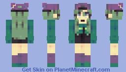 𝚂𝚔𝚊𝚝𝚎𝚛 𝙶𝚛𝚒𝚕𝚕 | 𝚁𝚎𝚜𝚑𝚊𝚍𝚎 Minecraft Skin