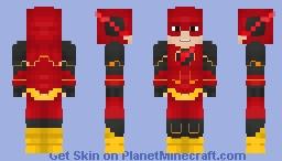 Barry Allen | Future Flash Minecraft Skin