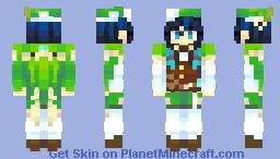 Tone-Deaf Bard Minecraft Skin