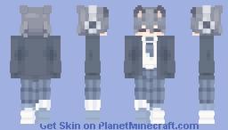 blueeeeeeeeeeee Minecraft Skin