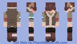 snowchester tubbo Minecraft Skin