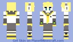 (CFM Vocaloid) Kagamine Len Skin Minecraft Skin