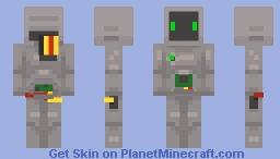 the uh guy Minecraft Skin